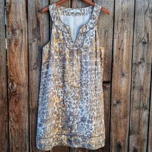 Loft Linen Shift Dress size 14 - Beautiful!